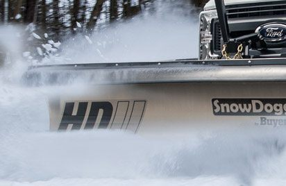 Medium Duty Straight Snow Plows